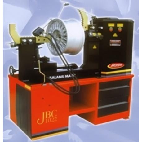 RADDRIZZA CERCHI JBC1018 RIM LEVELLING MACHINE SHININ STD