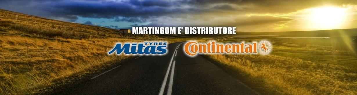 martingom distributore mitas e continental